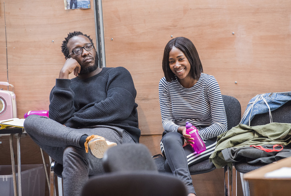 Photo Flash: Inside Rehearsal for THE SEAGULL at the Lyric Hammersmith