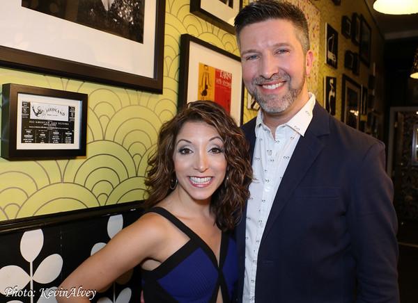 Christina Bianco and Brad Simmons