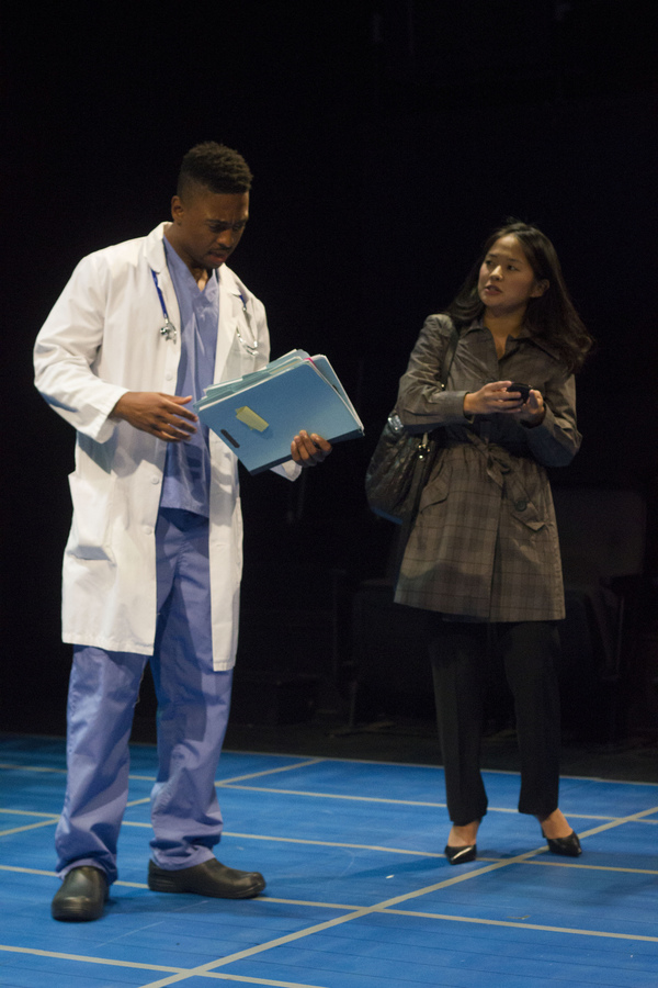 Photo Flash: First Look at SMART PEOPLE at Kitchen Theatre Company