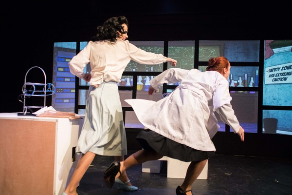 Photo Flash: Babes With Blades Theatre Company presents THE INVISIBLE SCARLET O'NEIL
