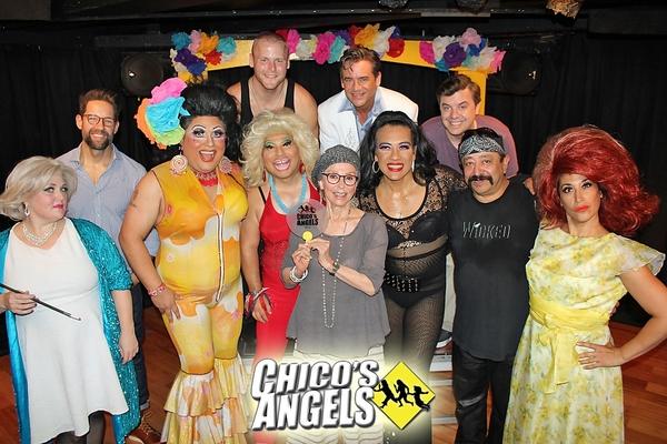 CHICO'S ANGELS cast with Rita Moreno