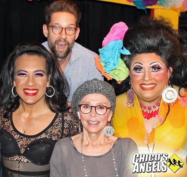 Photo Flash: Rita Moreno Visits Closing Night of CHICO'S ANGELS