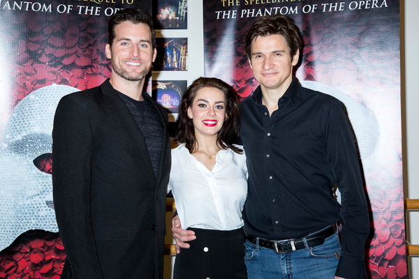 Photo Coverage: The Phantom Hits the Road! Meet the Cast of LOVE NEVER DIES on Tour!