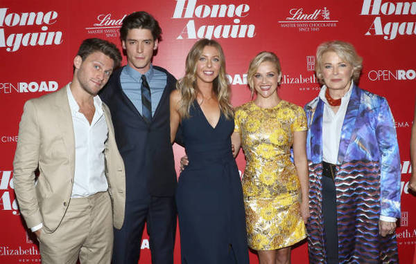 Jon Rudnitsky, Pico Alexander,  Hallie Meyers-Shyer, Reese Witherspoon and Candice Bergen