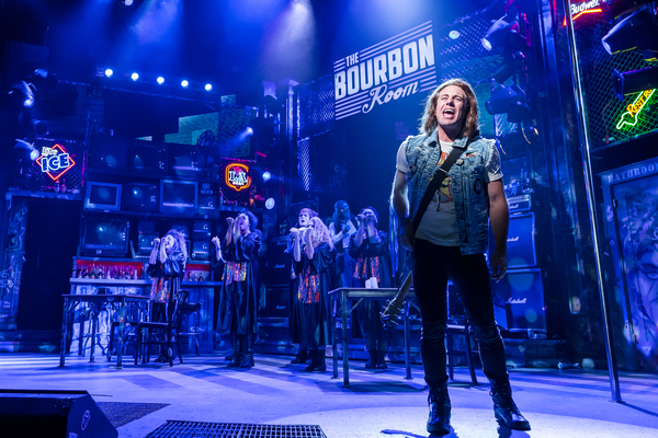 Photo Flash: First Look - ROCK OF AGES Hits Drury Lane Theatre with Its Best Shot
