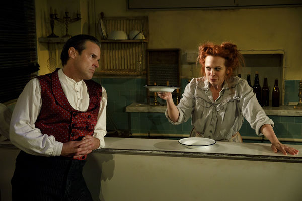 Hugh Panaro and Carolee Carmello