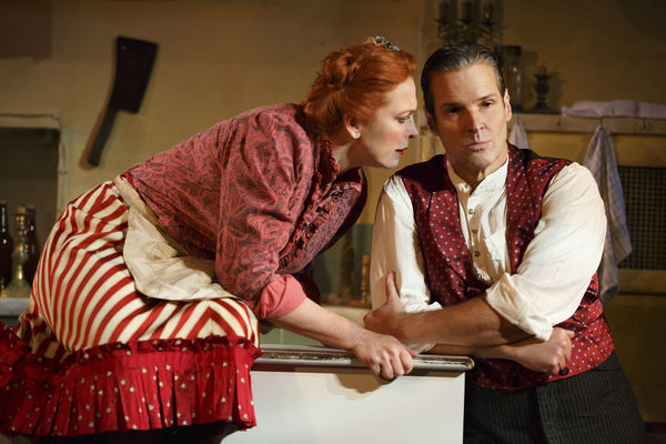 Carolee Carmello and Hugh Panaro