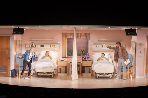 Photo Flash: First Look at Halley Feiffer, Jason Butler Harner and More in 'A FUNNY THING HAPPENED...' at Geffen Playhouse