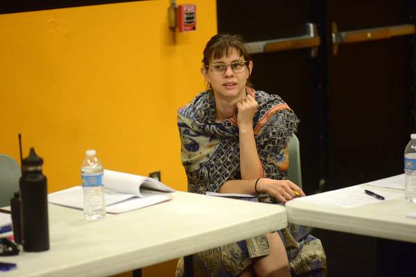 Photo Flash: In Rehearsal for the West Coast Premiere of EXIT STRATEGY