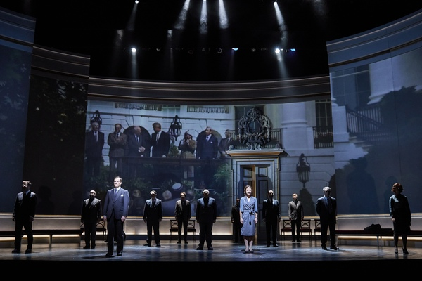 Photo Flash: First Look at OSLO at the National Theatre