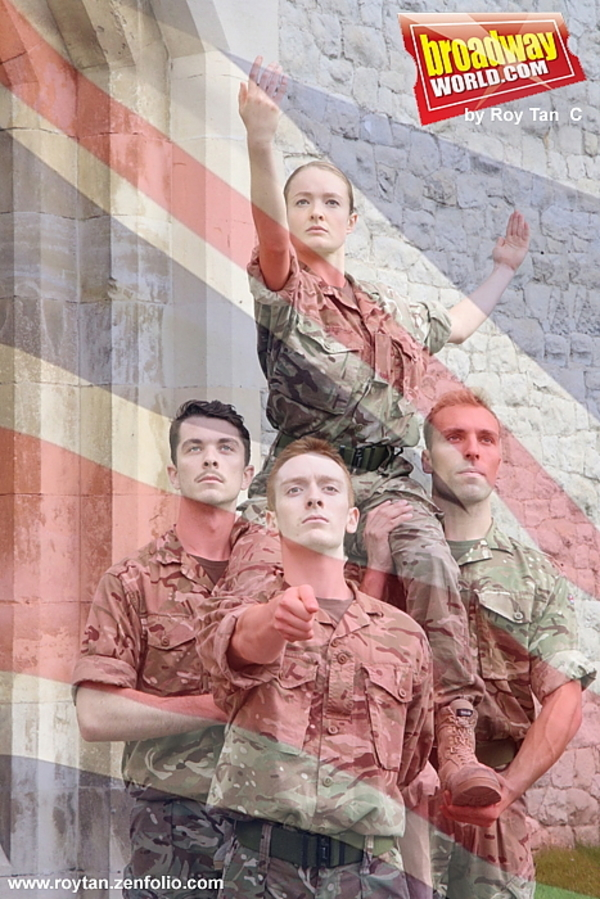 Photo Coverage: Rosie Kay Dance Company Brings 5 SOLDIERS: THE BODY IS THE FRONTLINE to Sadler's Wells