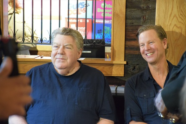 George Wendt and Alan Campbell
