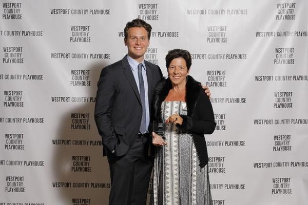 Jonathan Groff, Ann Sheffer  Photo