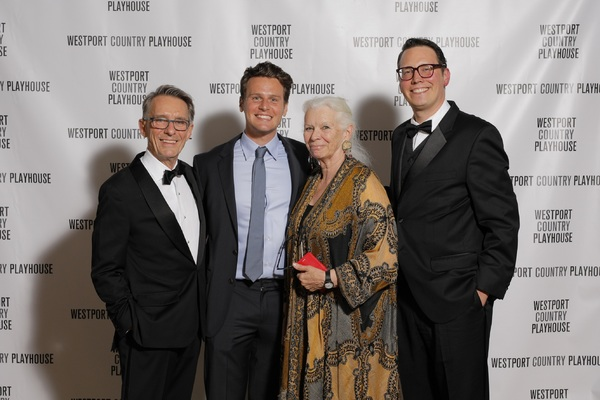 Mark Lamos, Jonathan Groff; Anne Keefe and Michael Barker