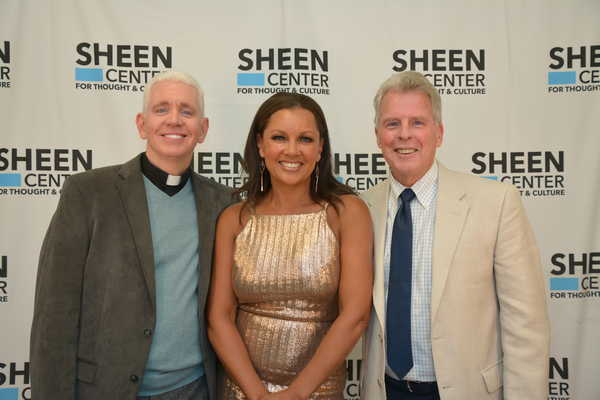 Edward L. Beck, Vanessa Williams and William Spencer Reilly Photo