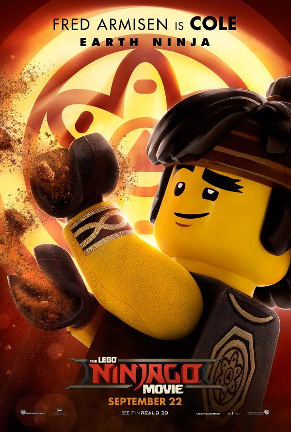 Attention, Ninjas! New Posters & Featurettes for The LEGO NINJAGO Movie