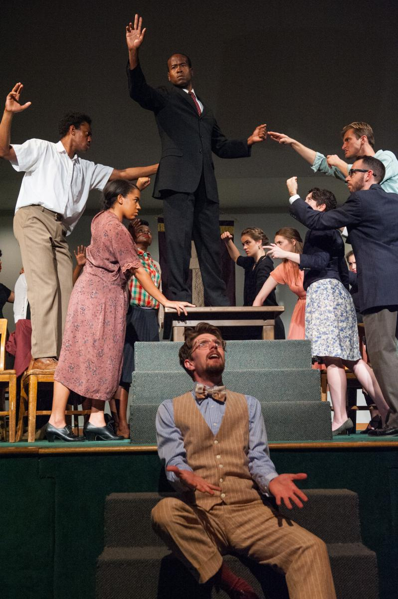 BWW Review: The Williams Project's BLUES FOR MISTER CHARLIE a Masterpiece