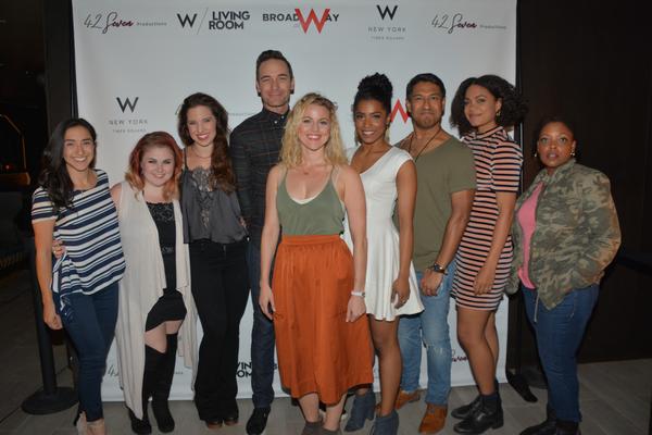 Camden Gonzales, Katy Geraghty, Jenna Rubaii, Sean Montgomery, Rebecca Faulkenberry T Photo