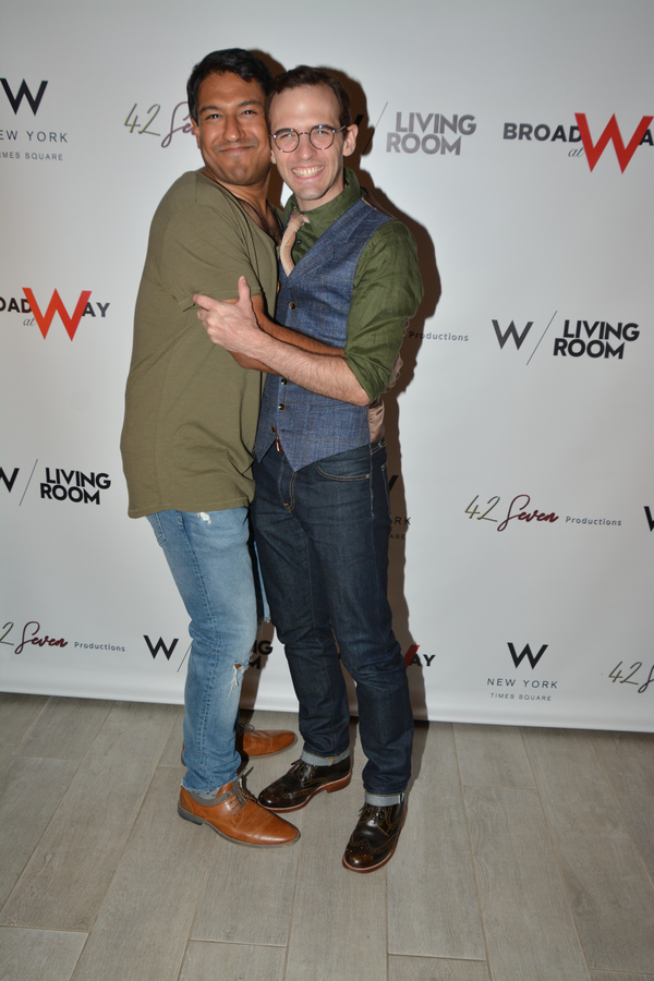 Vishal Vaidya and Joseph Medeiros Photo