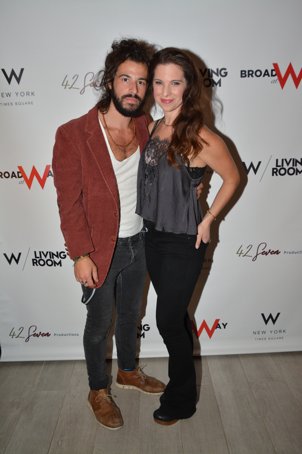 Luke Wygodny and Jenna Rubaii