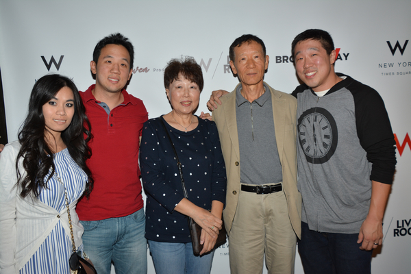Raymond J. Lee and his family-Judy Tran, Albert Lee, Okja Lee and Sae Lee