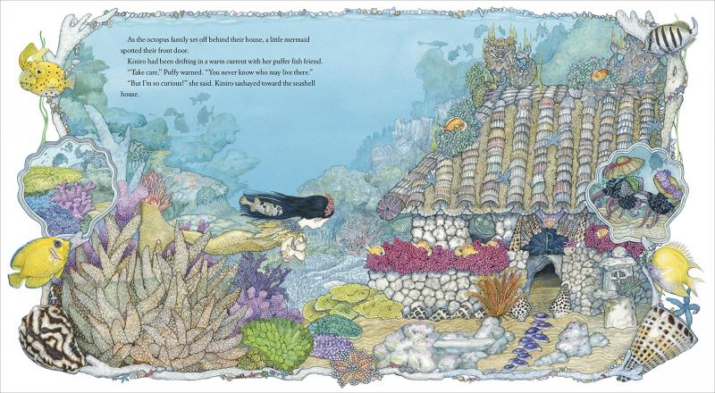 BWW Picture Book Review: THE MERMAID by Jan Brett
