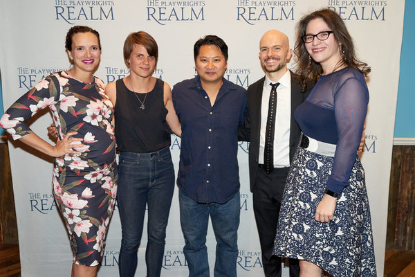 Roberta Pereira, Sarah DeLappe, Don Nguyen, Michael Yates Crowley and Katherine Kovne Photo