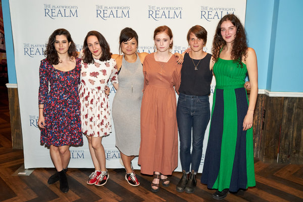 Tedra Milan, Lauren Patten, Lizzy Jutila, Susannah Perkins, Sarah DeLappe and Brenna Coates