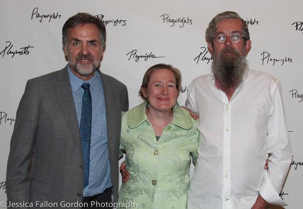 Tim Sanford, Sarah Ruhl and Les Waters