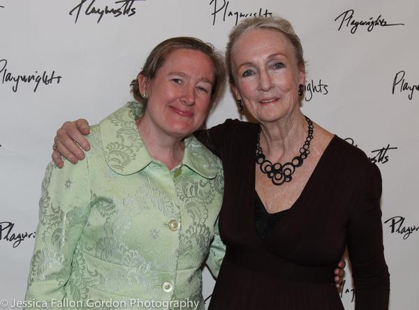 Sarah Ruhl and Kathleen Chalfant