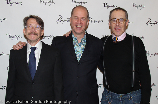 Keith Reddin, Daniel Jenkins and David Chandler
