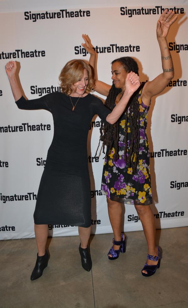 Christine Lahti and Suzan-Lori Parks