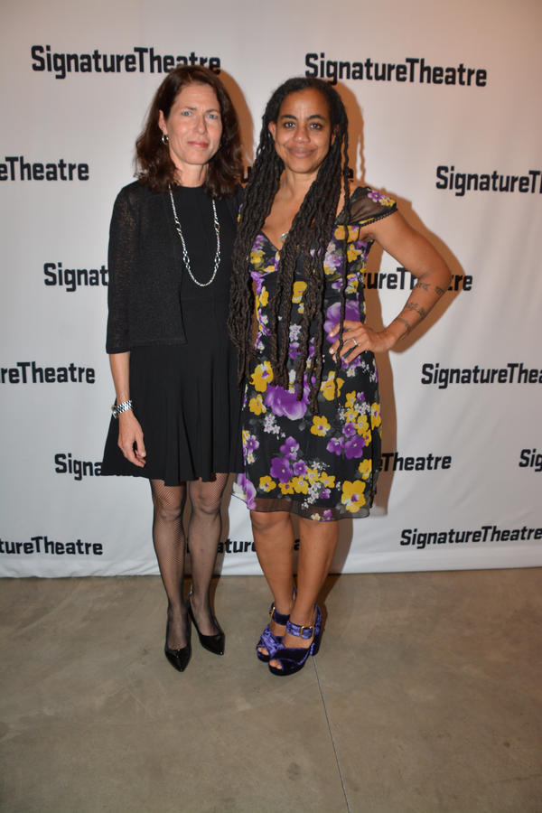 Paige Evans and Suzan-Lori Parks