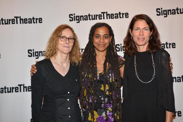 Jo Bonney, Paige Evans and Suzan-Lori Parks