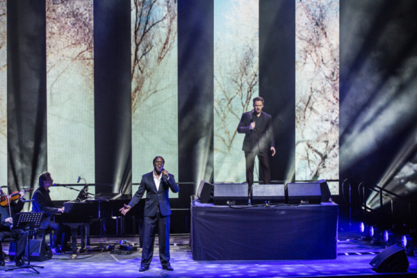 Photo Flash: First Look at the Cast of HEAVEN ON EARTH UK Arena Tour
