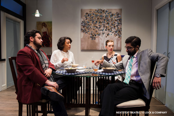 Photo Flash: First Look at DISGRACED at NextStop Theatre