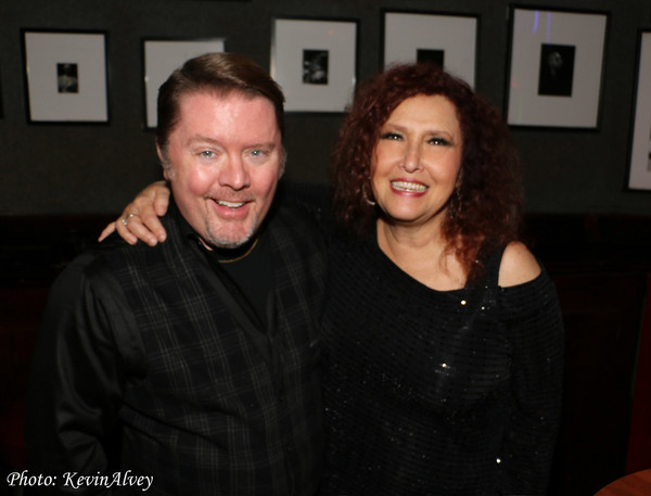 Kevin Alvey and Melissa Manchester Photo