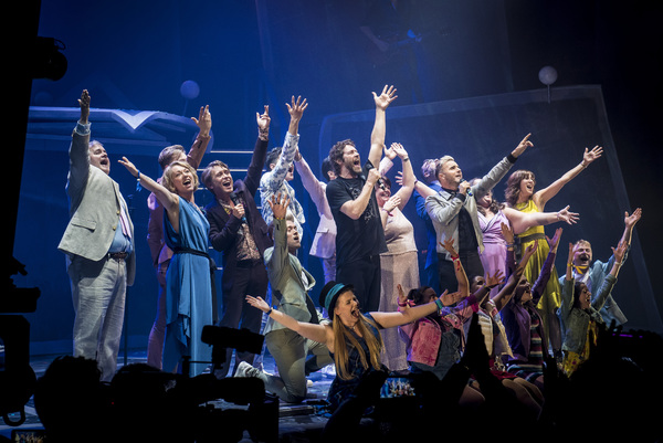 Photo Flash: Take That Joins the Cast of THE BAND in Manchester