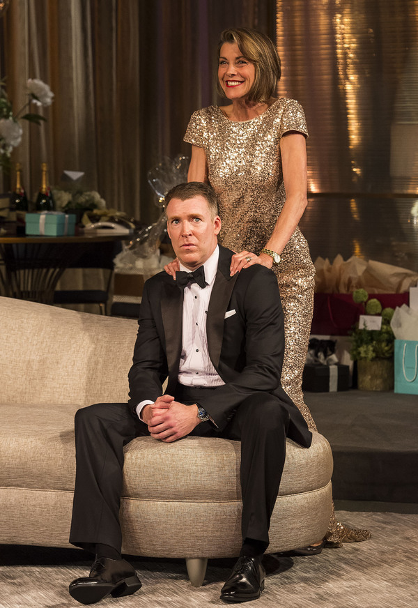 Brian Hutchison and Wendie Malick