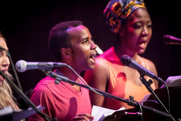 Photo Flash: Griffin Matthews' WITNESS UGANDA Gets Reading at The Wallis