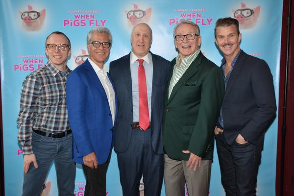 Ed Goldschneider, Mark Waldrop, Joshua Goodman, Bob Mackie and Denis Jones Photo