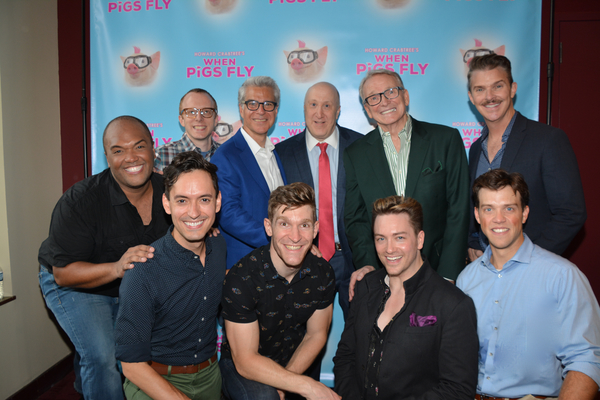 Ed Goldschneider, Mark Waldrop, Joshua Goodman, Bob Mackie and Denis Jones join the cast-Frank Viveros, Jacob Hoffman, Taylor Crousore, Brian Charles Rooney and Jordan Ahnquist
