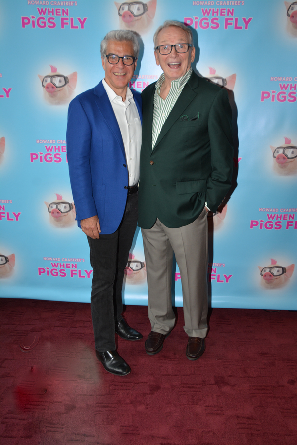 Mark Waldrop and Bob Mackie