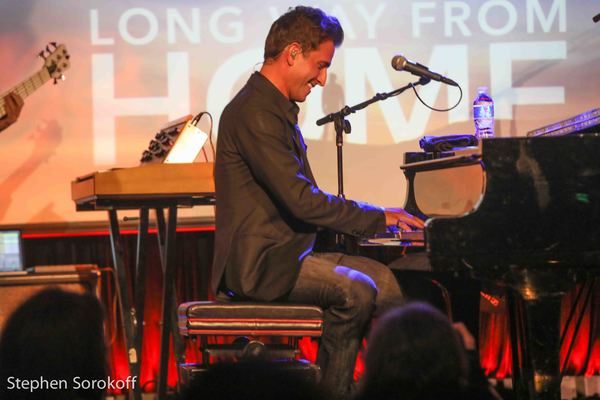 Photo Coverage: Peter Cincotti Is A LONG WAY FROM HOME at The Cutting Room