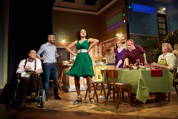 Photo Flash: RULES FOR LIVING Opens Tonight at Royal & Derngate