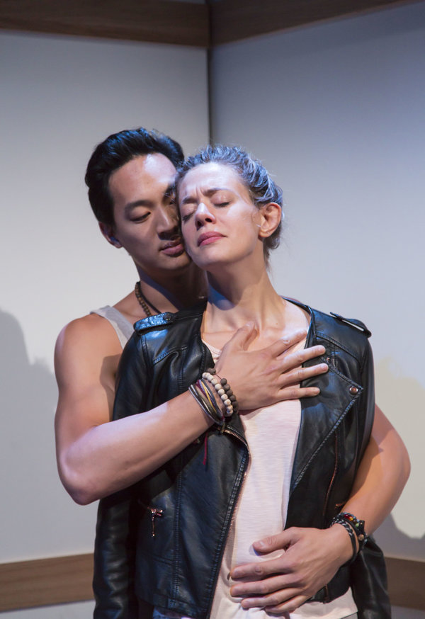 Edward Chin-Lyn and Brenna Palughi