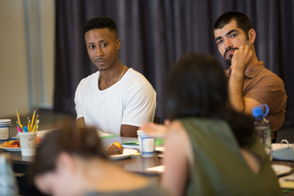 Photo Flash: Inside Rehearsal with William Jackson Harper, Cristin Milioti and More for LCT3's AFTER THE BLAST