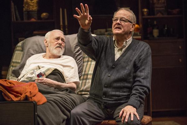 John Mahoney and Francis Guinan