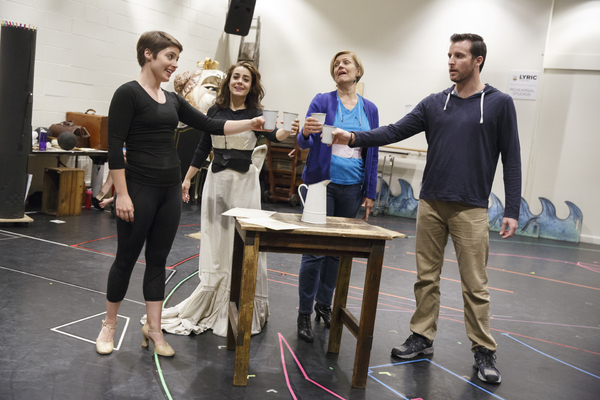 Photo Flash: Inside Rehearsal with Gardar Thor Cortes, Meghan Picerno and More for LOVE NEVER DIES on Tour