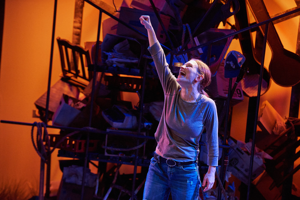 Photo Flash: First Look at THROW ME ON THE BURNPILE AND LIGHT ME UP at Aurora Theatre